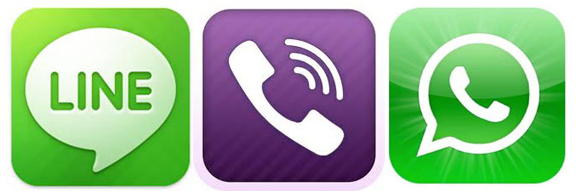 Whatsapp Viber Telegram 2